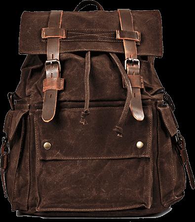 canvas-ryggsäck